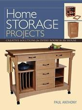 Home Storage Projects: Creative Solutions for Every Room in the House-ExLibrary