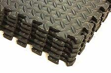 Rainforest 24 Sq Ft EVA Foam Floor Mat Interlocking Exercise Gym Flooring 6 pcs