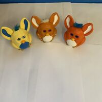 2005 Burger King Kids Meal Furby Figures Lot Set Of 3