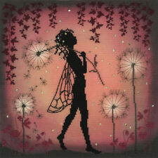 BOTHY THREADS ENCHANTED DANDELION FAIRY COUNTED CROSS STITCH KIT - XE5P