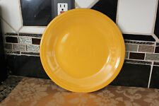 """FIESTAWARE 10.5"""" ROUND DINNER PLATE GOLD NEW! 1ST QUALITY"""