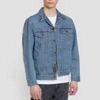 Levi's Skateboarding Blue Trucker Denim Jacket Size XS