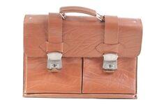 schöne alte Aktentasche Ranzen Tasche Büro vintage Leder