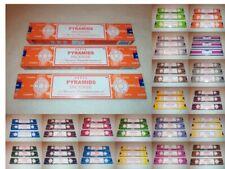 3 Packs Satya Sai Baba Genuine Incense Joss Sticks Nag Champa 15g - Choose Scent
