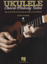 Ukulele Chord Melody Solos TAB Music Book with Audio Arranging Tips & Tricks