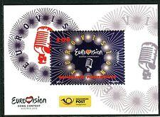195 - MACEDONIA 2015 - Eurovision - Song Contest - MNH Souvenir Sheet