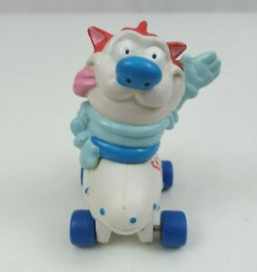 Vintage 1994 Nickelodeon Ren & Stimpy Space Cadet Stimpy Hardees Toy