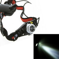 Ultra Bright 1500 Lumen XPE LED Headlamp Zoomable Headlight Head Lamp