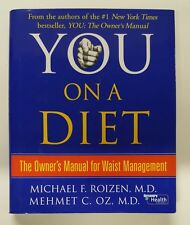 HARDCOVER BOOK : You on a Diet The Owner's Manual for Waist Management Dr Oz 370
