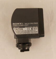 Sony HVL-FDH3 Video Flash Light For Camcorders 7.2V Tested Working