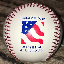 Gerald Ford Presidential Museum & Library West Michigan Whitecaps Logo Baseball