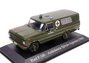 Ford F-100 Military Ambulance 1969PUB015  ALTAYA-IXO 1:43 New!