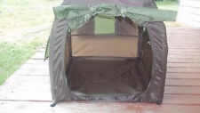 "ANIMAL PLANET brown nylon TENT small DOGS beach camping hiking 20"" x 20"" x 22"""