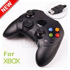 OZ  Dual Shock Gamepad Wired Game Controller Joypad for PC Microsoft XBOX Black