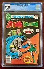 BRAVE AND THE BOLD #134 CGC 9.0 WP NM (DC 1977) BATMAN & GREEN LANTERN 🔑