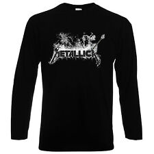 HERREN/MEN T-SHIRT TEE,METALLICA 8, METAL, BLACK, LONGSLEEVE/SHORTSLEEVE