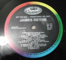 james reyne australian crawl track by track interview promo only LP '87 unplayed