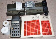 Hewlett-Packard HP 41CX Calculator w/ Card Reader, HP 82160 / 1 / 2A, Excellent