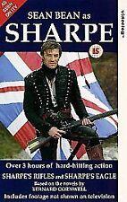 Sharpe's Rifles/Sharpe's Eagle [VHS] [1993], Good VHS, John Tams, Michael Mears,
