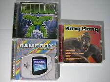 3 CD OFFERTA Hulk Gameboy King Kong NEW NUOVI SIGILLATI CD Musicali