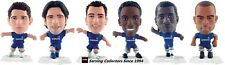 2010 MICRO WORLD SOCCER STARS FIGURINE CHELSEA TEAM SET (6)-WHITE BASE
