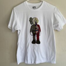 UNIQLO KAWS UT TEE T-SHIRT WHITE DISSECTED FLAYED SIZE XSmall XS COMPANION RARE