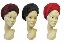 Acrylic Beret Vintage Hats for Women