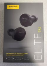 Jabra - Elite 75t True Wireless In-Ear Headphones - Black - Brand New