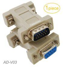 DB9 Female to HD15 VGA Male Multisync CGA/EGA to VGA Video Adapter, AD-V03
