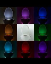 Toilet Night Light, Toilet Disco 8 Color LED Motion Activated Sensor