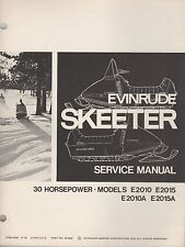 1971 EVINRUDE SKEETER 30 HP  SNOWMOBILE  SERVICE MANUAL P/N 261892 (389)