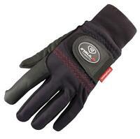 Mens INSUL8 Thermal Winter Golf Gloves Black x 2
