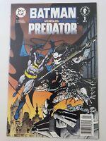 BATMAN VERSUS PREDATOR #1 (1991) DC COMICS NEWSSTAND VARIANT KUBERT! GIBBONS!