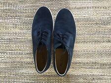 Men's Blue Lovelle Suede Shoes, Lace-up,size 11