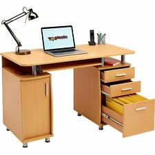 Computer Desk with Storage & A4 Filing Drawer Home Office - Piranha Emperor PC 2