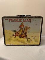 The Prairie Man Metal Lunch Box