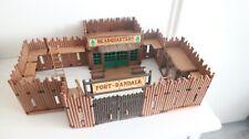 playmobil western fort randall like setnr. 3773 / 3420 / 3419 solders fortress