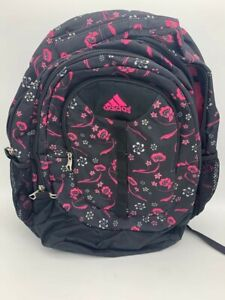 Adidas Large back pack with floral design Size 18 x 15 x 5 large