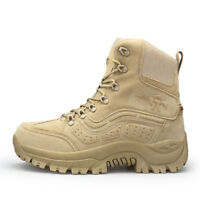 Men Fashion Camping Army Boot Outdoor Wear-resistant Non-Slip Sport Combat Boots