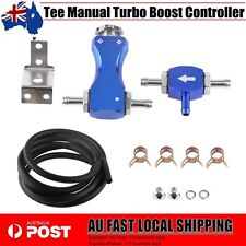 Adjustable Tee Manual Turbo Boost Controller Bleed Valve Petrol Diesel BLUE BBY