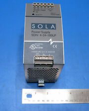 Sola Sdn 4 24 100lp Switch Mode Power Supply 24v38a 100w Load Tested
