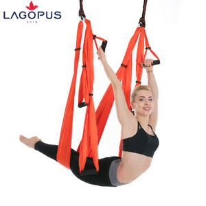 Yoga Swing Hammock Strap Anti Gravity Inversion Trapeze Sling Aerial Yoga Prop
