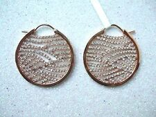 Esprit Ohrringe, Schmuck ca. 3 cm, rund, mit vielen Steinchen UVP 139,90€