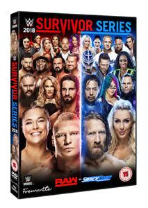 WWE: Survivor Series 2018 DVD (2019) Ronda Rousey cert 15 ***NEW*** Great Value