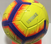 Nike Strike Soccer Ball Size- 5 / Yellow/Purple/Orange Red / SC3310 710