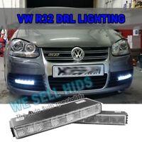 VW Golf R32 High Power 5 LED Daytime Running Lights DRL 6000k White Units MK5