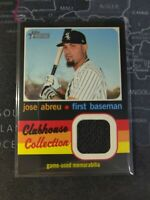 2020 Topps Heritage High Number Jose Abreu Clubhouse Collection Jersey Relic