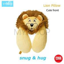 Go Travel Kids' Snug & Hug Lion Neck Pillow - Cute, Cosy & Fun