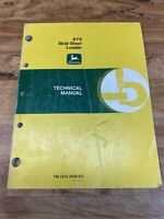 John Deere 675 Skid Steer Loader Operator's Manual