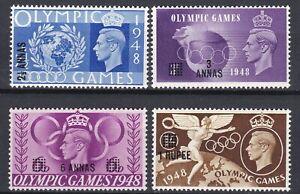 BPAEA Muscat Oman: 1948 SG/Scott 27-30, Olympic Games, MNH
